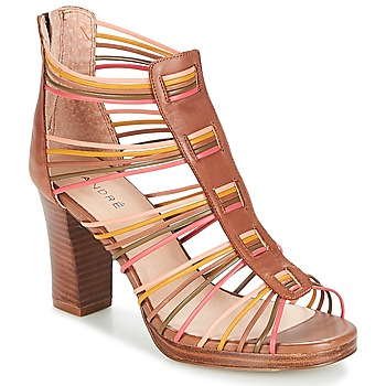Shoes Women Sandals André MASSAYE Camel