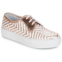 Shoes Women Low top trainers André NAT Gold
