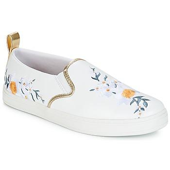 Shoes Women Slip ons André CHARDON White