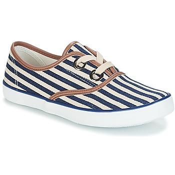 Shoes Women Low top trainers André MELON Blue