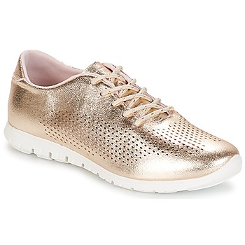 Shoes Women Low top trainers André AIKIDO Gold