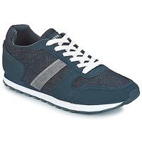 Shoes Men Low top trainers André EVENT Marine