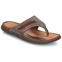 Shoes Men Flip flops André MATEO Brown