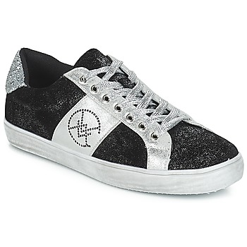 Shoes Women Low top trainers Chattawak BARI Black / Silver