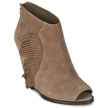 Shoes Women Ankle boots Ash LYNX Taupe