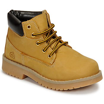 Shoes Children High top trainers Citrouille et Compagnie JERYU Brown / Wheat
