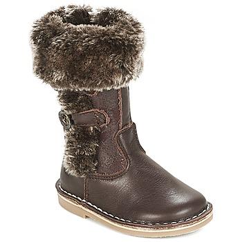 Shoes Girl Boots Citrouille et Compagnie JOSY Brown