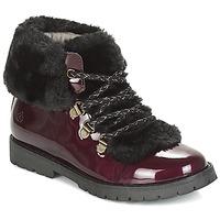 Shoes Girl Mid boots Citrouille et Compagnie JUTTER Bordeau / Varnish
