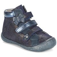 Shoes Girl Mid boots Citrouille et Compagnie JODIL Blue