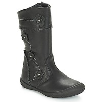 Shoes Girl Boots Citrouille et Compagnie JAMATIS Black