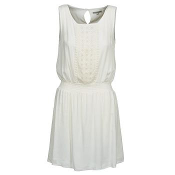 material Women Short Dresses Best Mountain ROBALA White