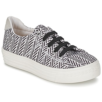 Shoes Girl Low top trainers Shwik STEP LO CUT Black / White