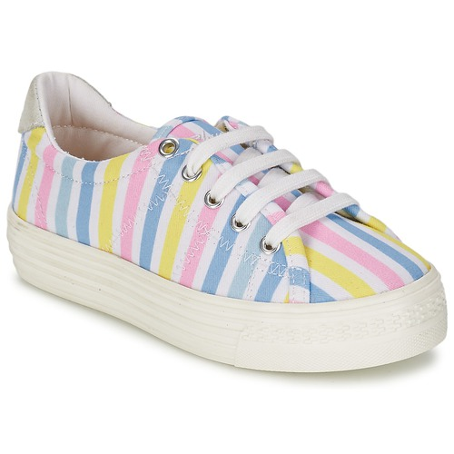Shoes Girl Low top trainers Shwik STEP LO CUT Multicoloured