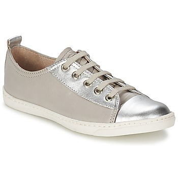 Shoes Girl Low top trainers Shwik SLIM LO CUT Silver