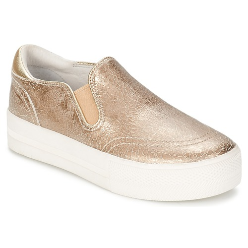 Shoes Women Slip ons Ash JUNGLE Gold