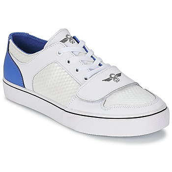 Shoes Men Low top trainers Creative Recreation CESARIO LO XVI White / Blue / Cube