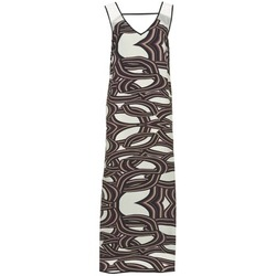 material Women Long Dresses Sisley SIXIOL Multicoloured