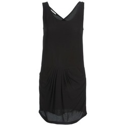 material Women Short Dresses See U Soon CAROL Black