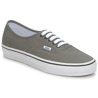 Shoes Men Low top trainers Vans AUTHENTIC Grey