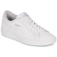Shoes Children Low top trainers Puma SMASH White