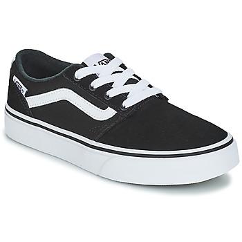 Shoes Children Low top trainers Vans VYT CHAPM STRIP Black