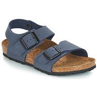 Shoes Children Sandals Birkenstock NEW YORK Blue