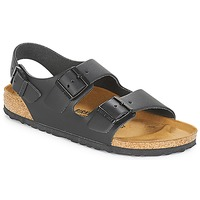 Shoes Men Sandals Birkenstock MILANO Black