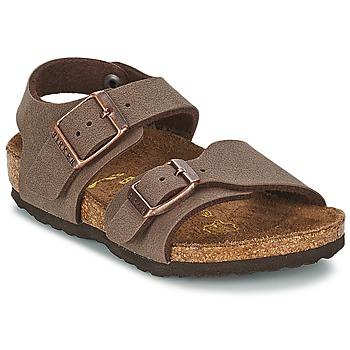 Shoes Children Sandals Birkenstock NEW YORK Mocca
