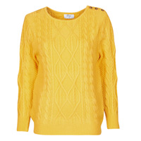 material Women jumpers Betty London JEDRO Yellow