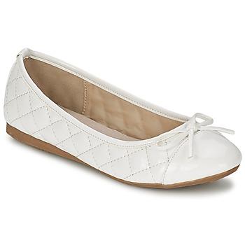 Shoes Women Ballerinas Moony Mood VOHEMA White / Patent