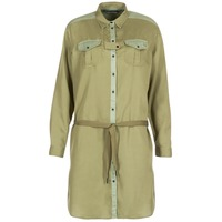 material Women Short Dresses Scotch & Soda JULIENAS Khaki