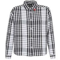 material Women Shirts Maison Scotch FRINDA Black / White