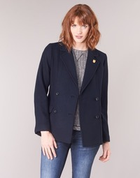 material Women coats Maison Scotch HYPEQ Black