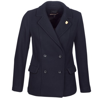 material Women coats Scotch & Soda HYPEQ Black