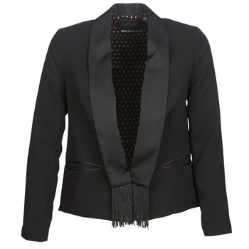 material Women Jackets / Blazers Scotch & Soda BOUKOUM Black