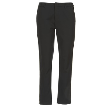material Women Cargo trousers Scotch & Soda ZERATRE Black / White