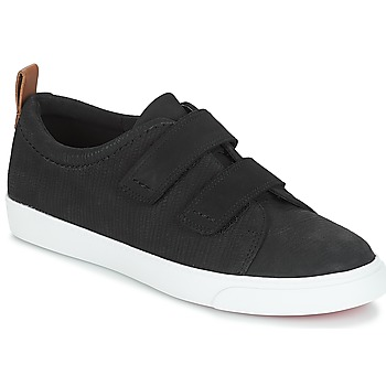 Shoes Women Low top trainers Clarks Glove Daisy  black / Combi / Nbk