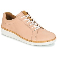 Shoes Women Derby shoes Clarks Amberlee Rosa Nude / Nubuck