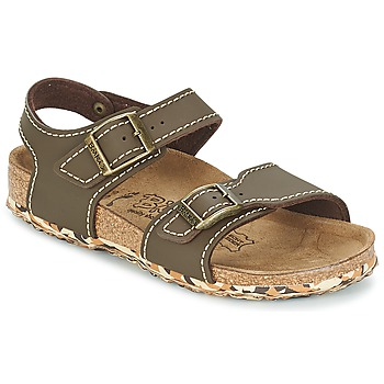 Shoes Girl Sandals Birki's NEW YORK Neoprene / Brown