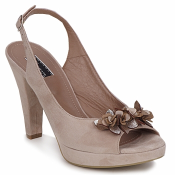 Shoes Women Sandals Vic CALIPSO DRAL Beige