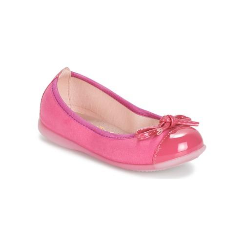 Shoes Girl Ballerinas Citrouille et Compagnie MIXOUBET Fuschia
