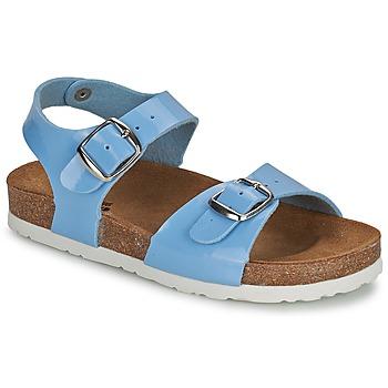 Shoes Girl Sandals Citrouille et Compagnie INIALE Blue