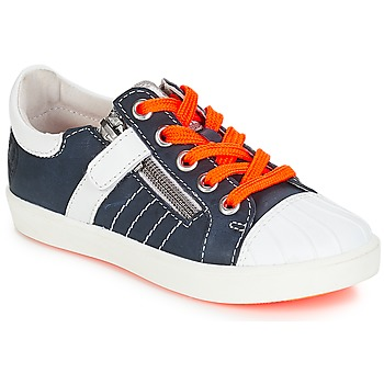 Shoes Boy Low top trainers GBB MAXANCE Vte / Navy white / Dpf / 2706