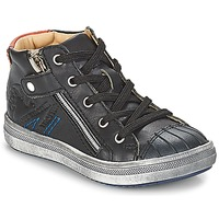 Shoes Boy High top trainers GBB NICO Vte / Black / Dpf / 2835