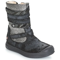 Shoes Girl Boots GBB NOURIA Vtc / Black / Dpf / Edit