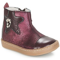 Shoes Girl Mid boots GBB LIAT Vte / Bordo / Dpf / 2706