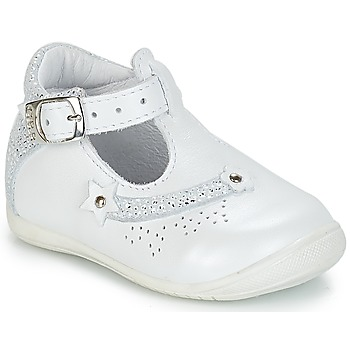 Shoes Girl Low top trainers GBB PASCALE Vte / White / Dpf / Kezia