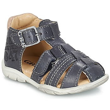 Shoes Boy Sandals GBB PRIGENT Vte / Marine / Dpf / Filou