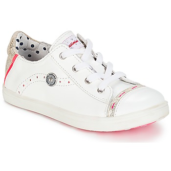 Shoes Girl Low top trainers Catimini PANDA Vte / White / Dpf / Venus