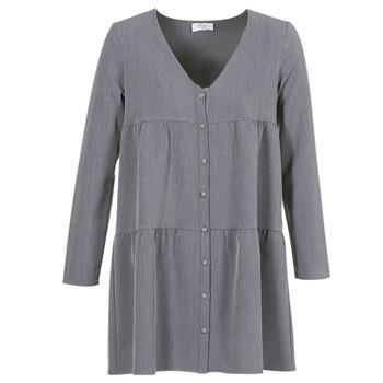 material Women Short Dresses Betty London JOGURET Grey